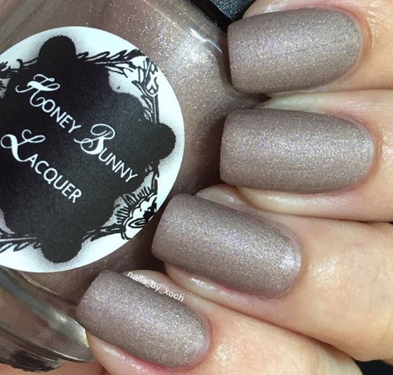 Pennyroyal Tea matte nail polish matte taupe 5 free | Etsy
