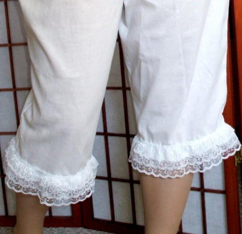 3da171a2886 Renaissance Bloomers 2X-5X or Pantaloons Costume Womens Plus