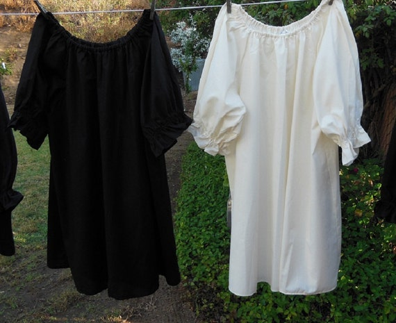 3f87b84cdf2 Renaissance Chemise Blouse Womens Plus Size Tunic Custom Made