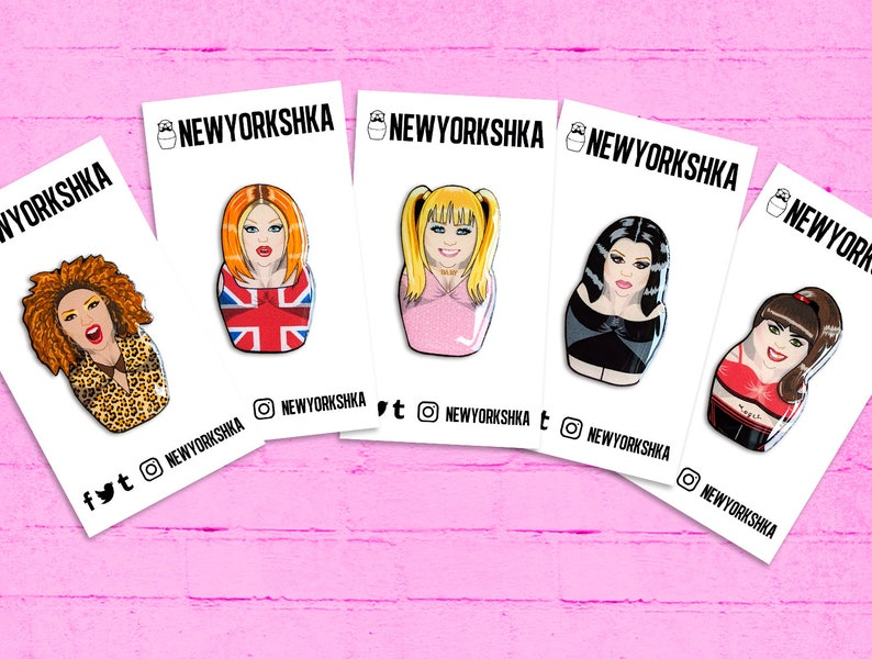 Spice Girls Dolls Pins Pack image 0
