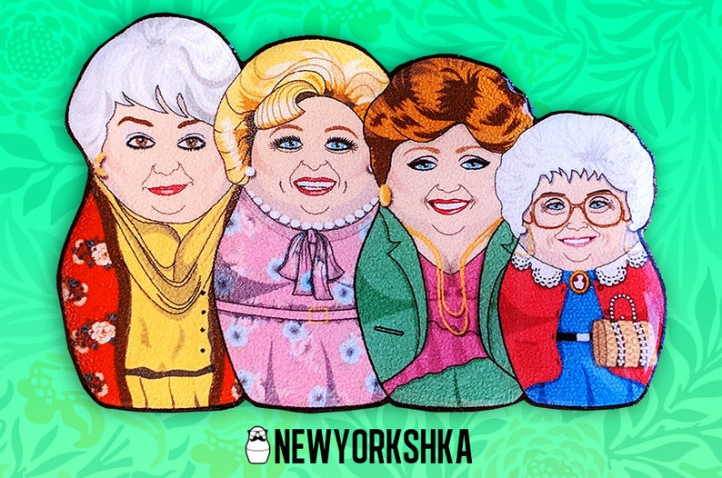Golden Girls Dolls Pin image 0