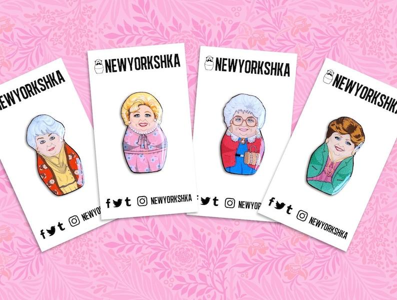 Golden Girls Dolls Pins Pack image 0