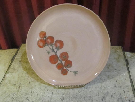 & Ceramisia Italian Stoneware Plate
