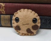 Chocolate chip cookie plushie (* in stock and ready to ship *)