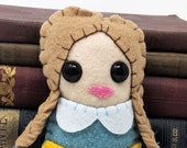 Jane Ross  - Miss Fisher's Murder Mysteries plushie  (made to order)