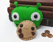 Final Space Mooncake plushie with chocolate treasure coin (* in stock and ready to ship *)