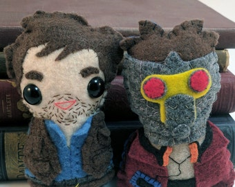 The Chris Pratt Pack - Star Lord and Owen Grady (made to order)
