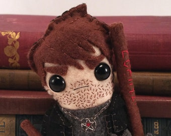 Harry Dresden - Dresden Files plushie (made to order)