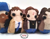 Supernatural plushies - Sam, Dean, Bobby, and Castiel (made to order)