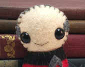Jean-Luc Picard - Patrick Stewart - Star Trek TNG plushiehip! (* in stock and ready to ship *)