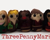 Complete Firefly cast plushies (made to order)