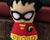 Robin  plushie (made to order)