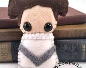 Princess Leia Organa plushie (made to order)