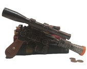 Airsoft - Han Solo's DL-44 heavy blaster pistol prop w/scope - metal based 3/4 scale (made to order)