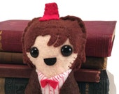 11th Doctor - Matt Smith - Dr Who plushie (made to order)
