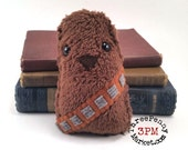 Chewbacca plushie (made to order)