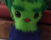 The Hulk plushie (made to order)