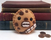 """Adorable """"Chewy"""" cookie plushie (made to order)"""