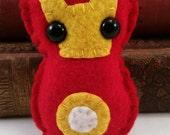 Iron Man - Tony Stark plushie (made to order)