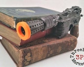 Han Solo's DL-44 heavy blaster pistol prop - metal based 3/4 scale (made to order)