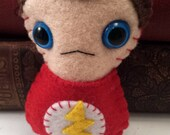 Sheldon Cooper Big Bang Theory plushie (made to order)