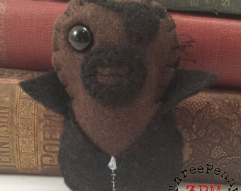 Director Nick Fury plushie (made to order)