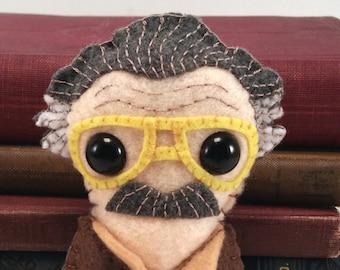 Stan Lee plushie (made to order)