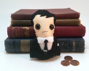 Jim Moriarty - Sherlock plushie (made to order)