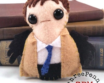 Castiel - Supernatural plushie (made to order)