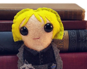 Karrin Murphy - Dresden Files plushie (made to order)