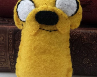 Jake the Dog Adventure Time plushie (made to order)