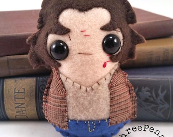 Sam Winchester - Supernatural plushie (made to order)