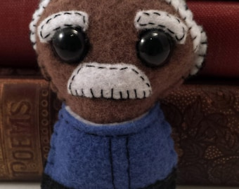 Shepherd Book plushie (made to order)