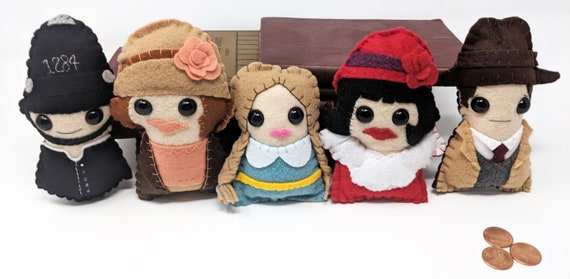 made to order Miss Fishers Murder Mysteries plushie Jane Ross