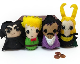 The Prince Pack plushies (made to order)