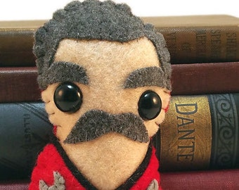 "Montgomery ""Scotty"" Scott (mustache version) - Star Trek plushie (made to order)"