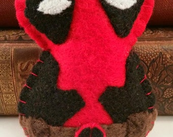 Deadpool plushie (made to order)