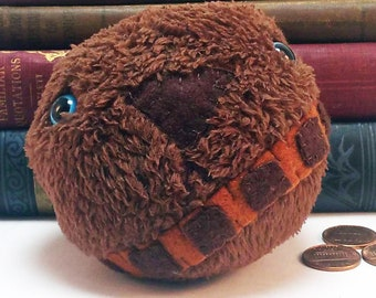 Chewbacca-ball plushie (made to order)
