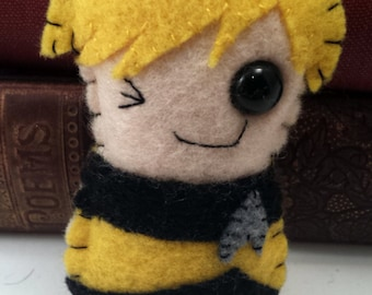 Tasha Yar - Star Trek TNG plushie (made to order)
