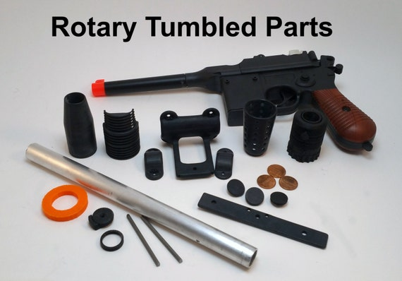 1:1 Airsoft Mauser Kit for Han Solo's ANH DL-44 heavy blaster with Scope  (made to order)