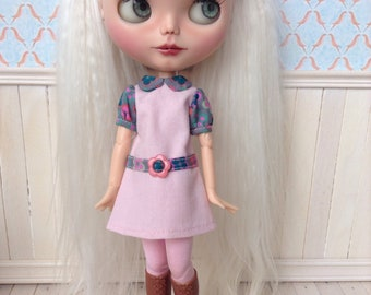 Blythe dress, retro sixties mod, also fits pure neemo S or similar