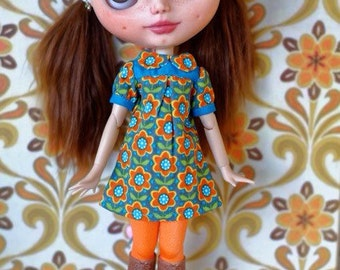 Blythe retro dress, also fit pure neemo  sizes S and M