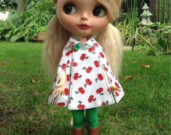 Blythe coat cape, also for pure neemo size S