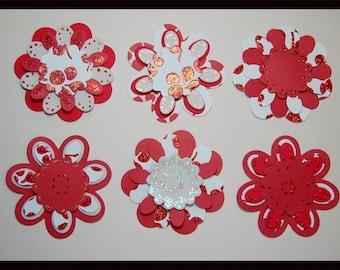 Flowers Cutting Die Scrapbooking Embossing Card Making Paper Craft