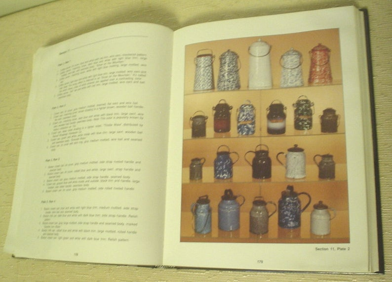 the collectors encyclopedia of granite ware colors shapes and values