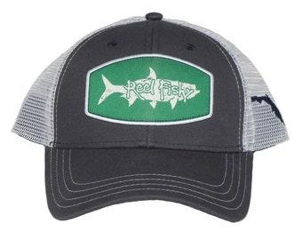 6ee9a6dc Tarpon Fishing Trucker Hat, Snapback Trucker Cap, Mens Fishing Trucker Hat,  Ladies Trucker Hat, State of Florida Trucker Hat, Adjustable Hat