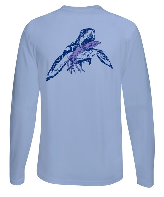 Ladies PINK V-Neck Turtle Performance Fishing Shirts