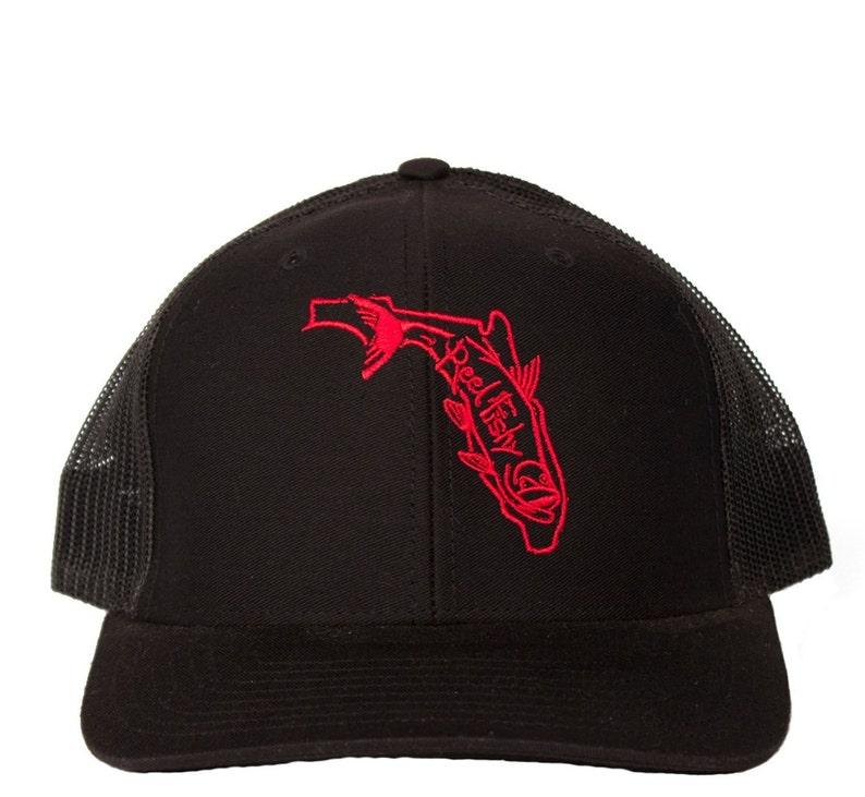 db1762051af04 Tarpon Fishing Hat Snapback Trucker Cap State of Florida