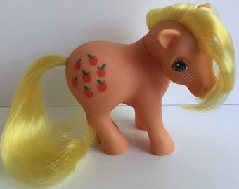 G1 My Little Pony Original APPLEJACK Apple Jack