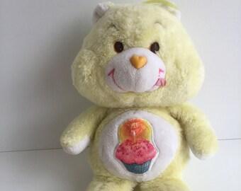 bad64427d Original Vintage Kenner CARE BEARS Birthday Bear Plush